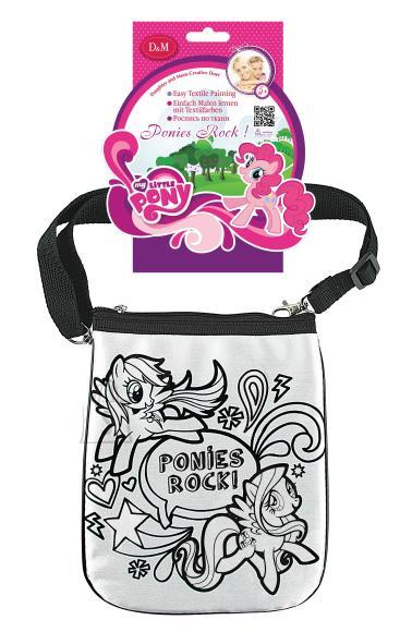 My Little Pony värvitav kott My Little Pony