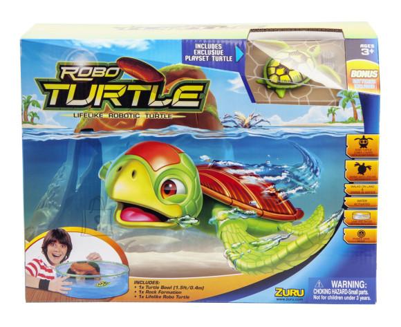 Zuru robotkilpkonn akvaariumiga
