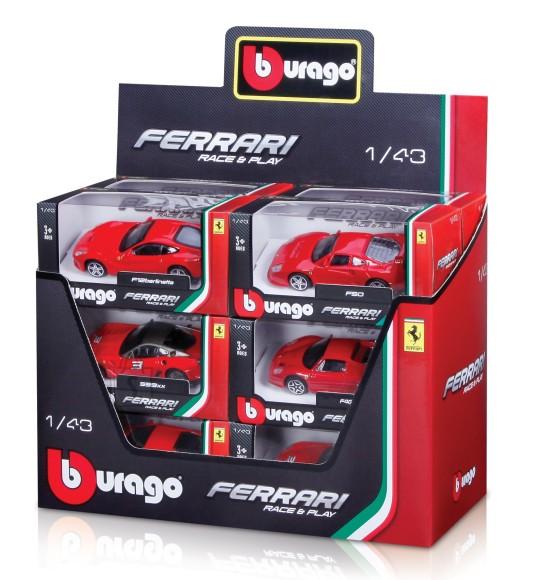 Bburago mudelauto Ferrari Race&Play 1:43