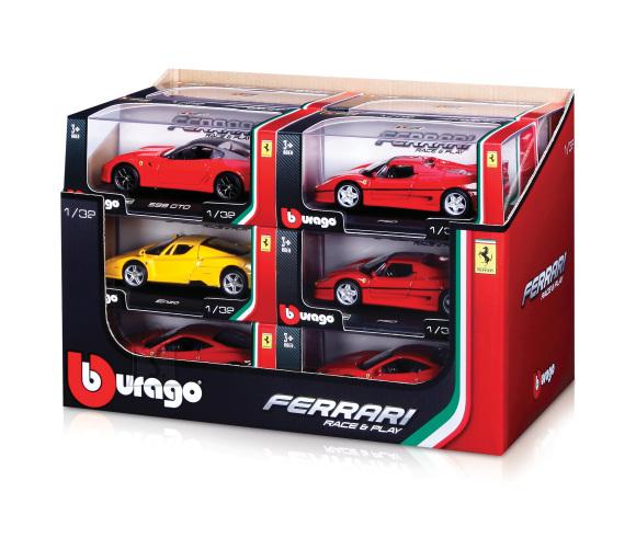 Bburago mudelauto Ferrari Race&Play 1:32