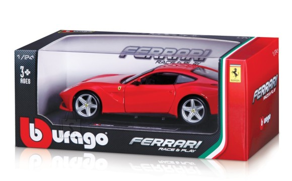 Bburago mudelauto Ferrari Race&Play 1:24
