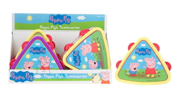 Peppa Pig tamburiin 1tk
