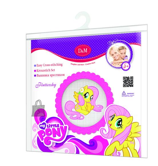 My Little Pony Revontuli MLP Fluttershy tikkimiskomplekt