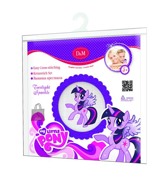 My Little Pony Revontuli MLP käekoti tikkimiskomplekt