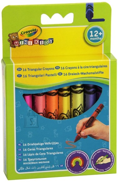 Crayola kolmnurksed rasvakriidid 16 tk