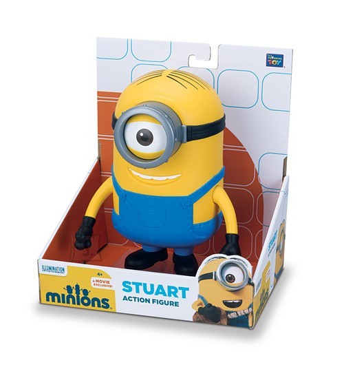 Minions mängukuju Stuart 17cm