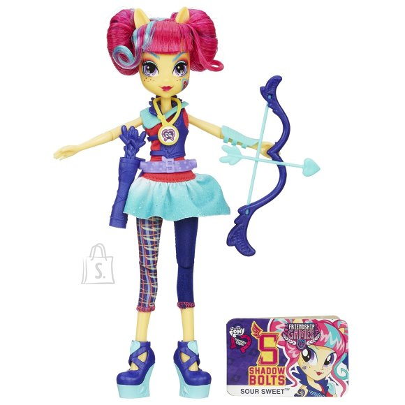 My Little Pony Equestria Sportlikud deluxe nukud