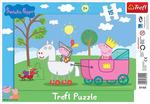 Trefl raampusle Peppa Pig 15 tk