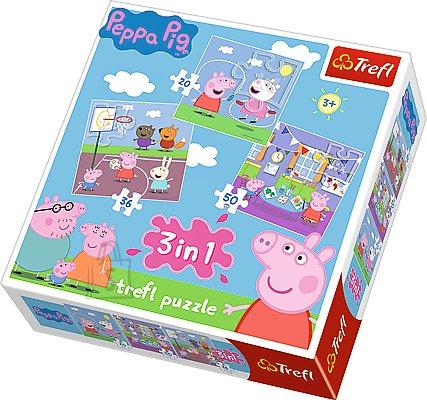 Trefl pusle komplekt Peppa Pig 106 tk
