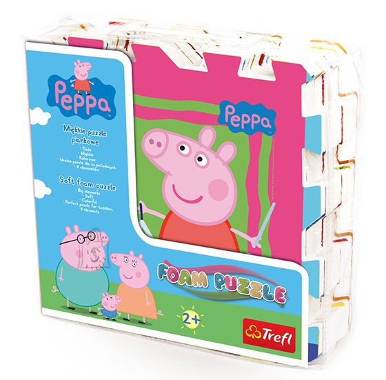Trefl puslematt Peppa Pig 8tk