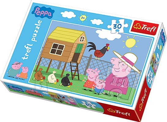 Trefl pusle Peppa Pig 30 tk
