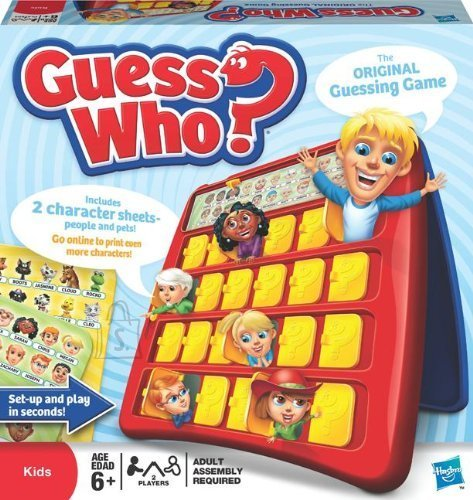Hasbro lauamäng Guess Who?