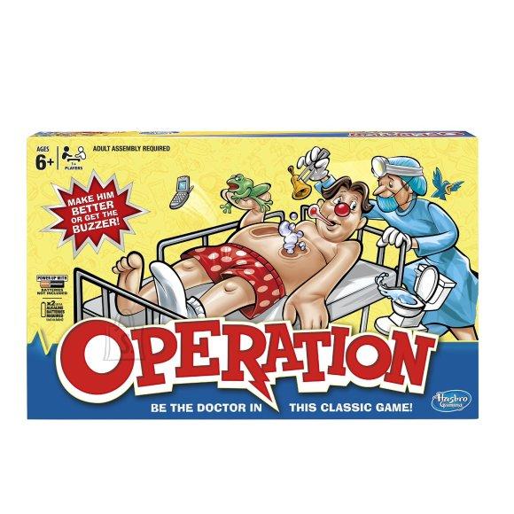 Hasbro lauamäng Operatsioon
