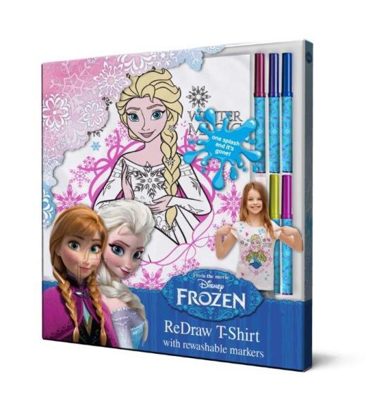 Frozen Frozen T-särk + pestavad markerid 116 cm