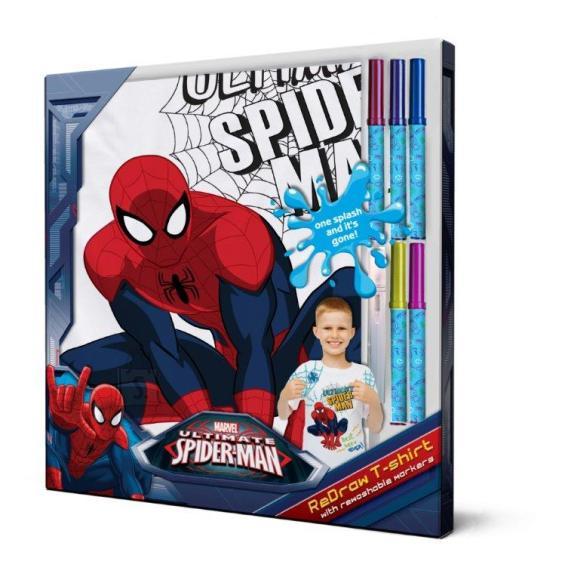 Disney Marvel Ämblikmehe T-särk + pestavad markerid 104 cm