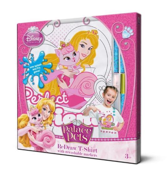 Disney Printsessi T-särk + pestavad marketid 128 cm
