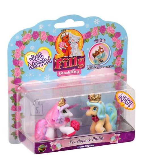 Filly mängukujud Kaks talvepulma poni