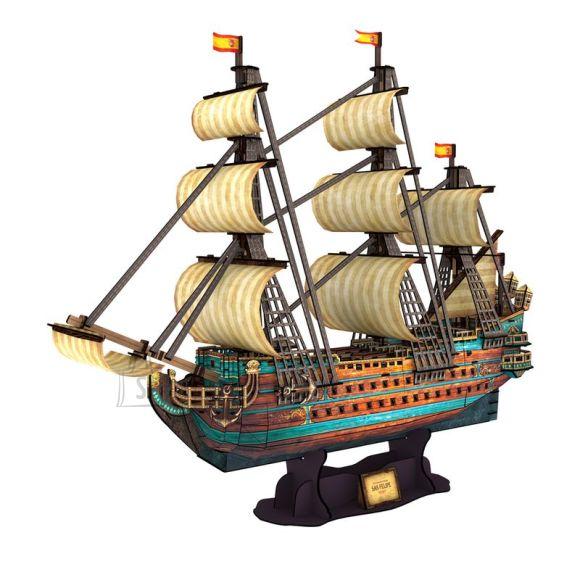 CubicFun 3D pusle Hispaania armada: San Felipe 248 osa
