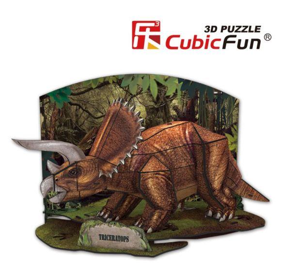 CubicFun 3D pusle Triceratops