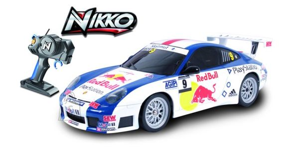 Nikko raadioteel juhitav WRC auto Porche 911 1/16