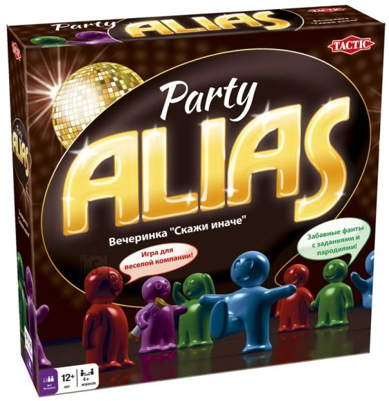 Tactic lauamängu Party Alias (venekeelne)