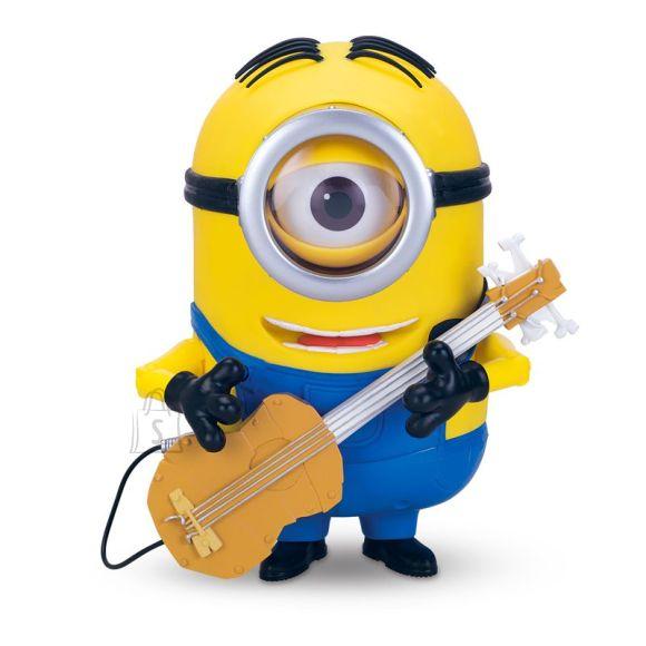 Minions rääkiv Stuart kitarriga