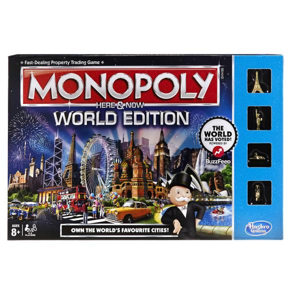 Hasbro lauamäng Monopoly Siin ja Praegu (ingliskeelne)