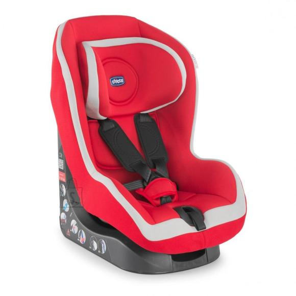 Chicco Go-One turvatool Red 9-18 kg