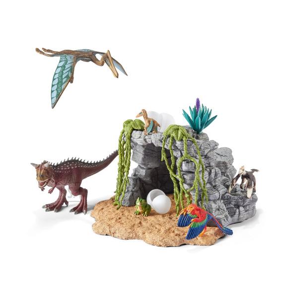 Schleich mängukujud Dino komplekt koos koopaga