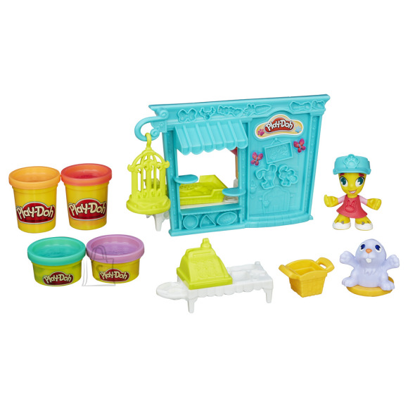 Play Doh Town voolimismass loomapood