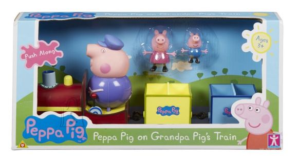 Peppa Pig mängukomplekt Rong
