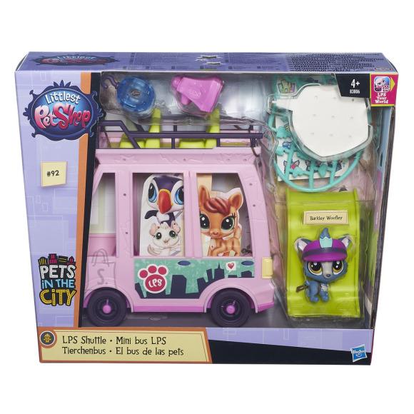 Littlest Pet Shop kahekordne buss