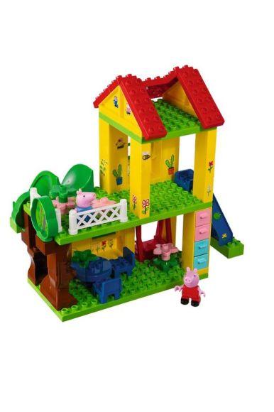 Simba Peppa Pig Klotsikomplekt Maja