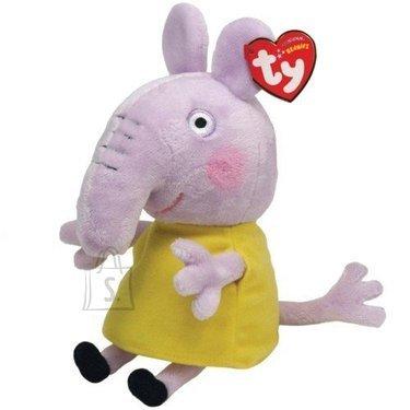 Peppa Pig mänguloom kleidiga elevant Emily 20cm