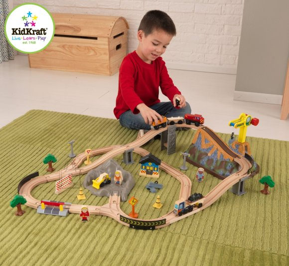 KidKraft raudtee komplekt
