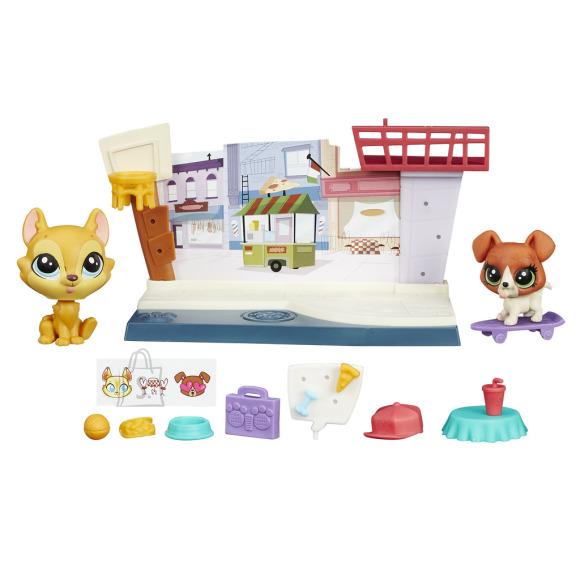 Littlest Pet Shop väike mängukomplekt
