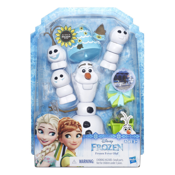 Frozen Olaf lisadega