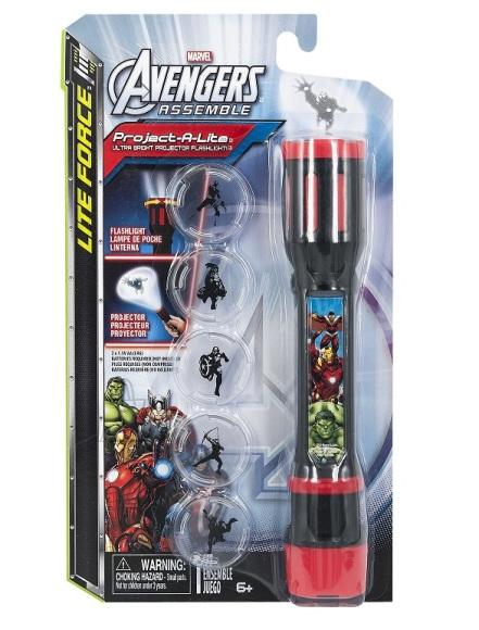 Taskulamp/projektor Avengers