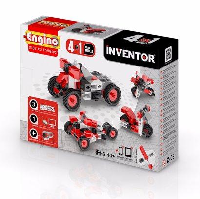 Engino Inventor konstruktor mootorrattad 4 mudelit