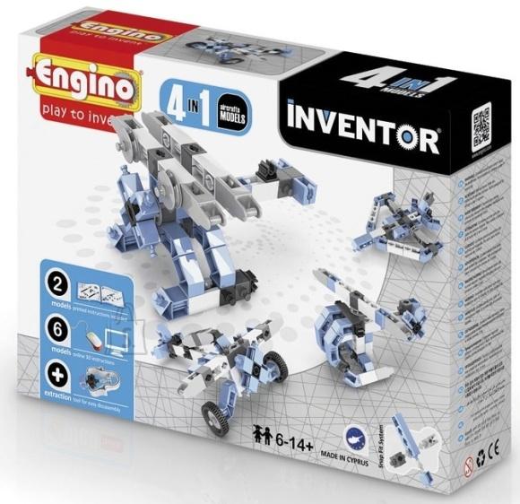 Engino Inventor konstruktor õhusõidukid 4 mudelit