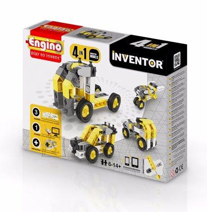 Engino Inventor konstruktor tööstus 4 mudelit