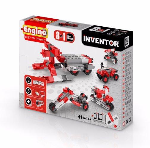 Engino Inventor konstruktor mootorrattad 8 mudelit