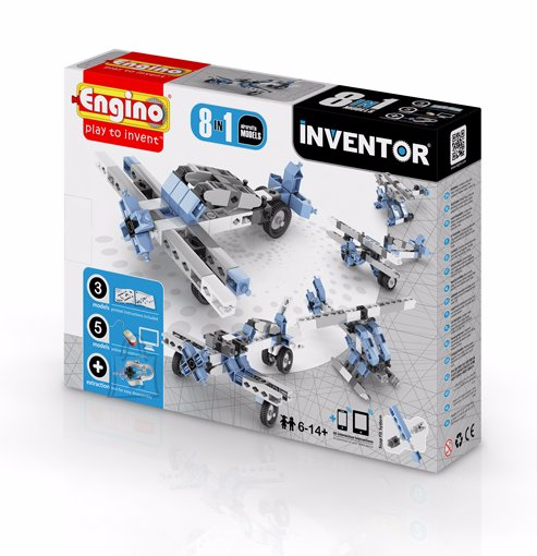 Engino Inventor konstruktor õhusõidukid 8 mudelit