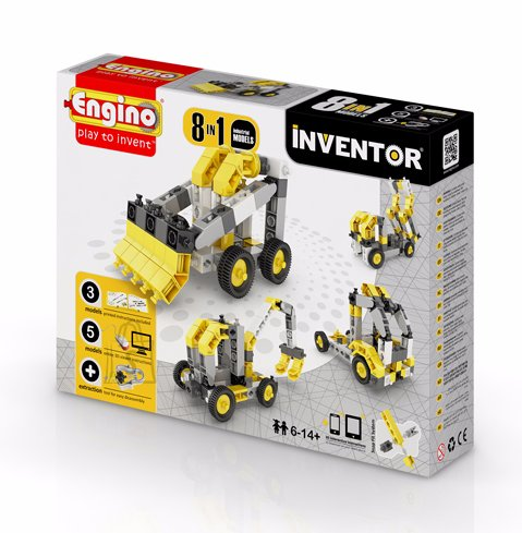 Engino Inventor konstruktor tööstus 8 mudelit
