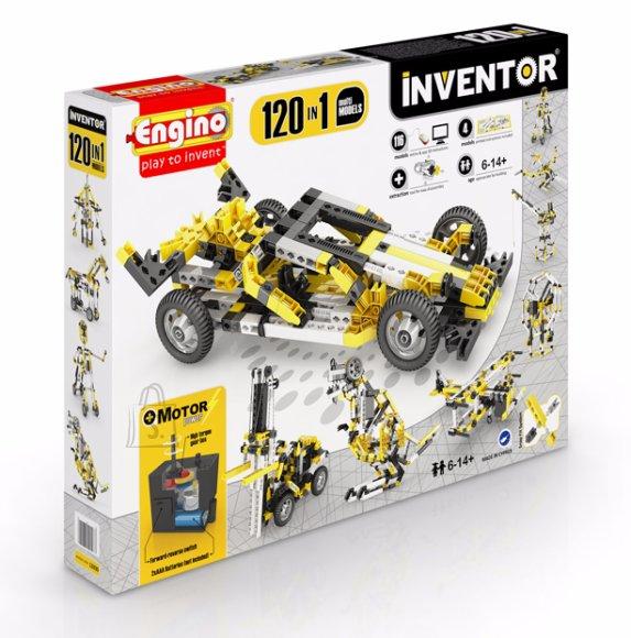 Engino Inventor konstruktor 120 motoriseeritud mudelit