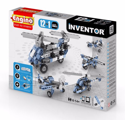 Engino Inventor konstruktor õhusõidukid 12 mudelit