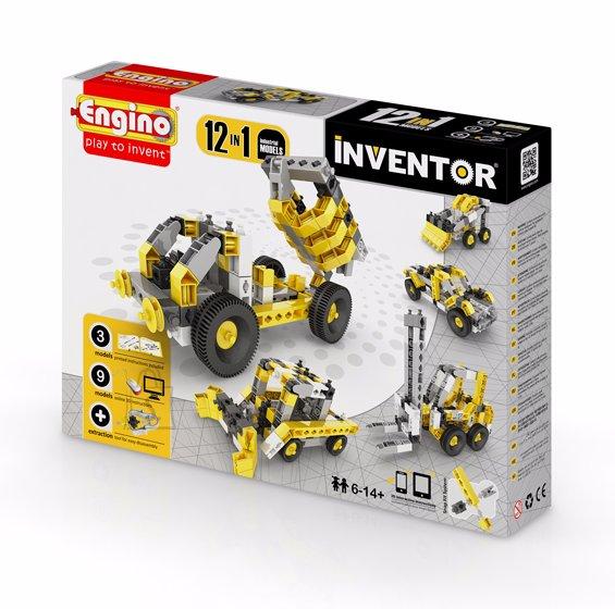 Engino Inventor konstruktor tööstus 12 mudelit