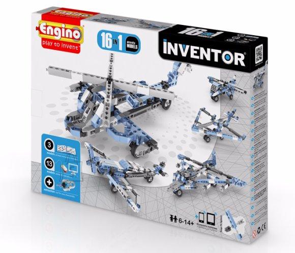 Engino Inventor konstruktor õhusõidukid 16 mudelit