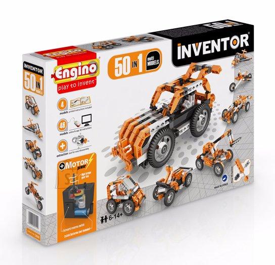 Engino Inventor konstruktor 50 motoriseeritud mudelit
