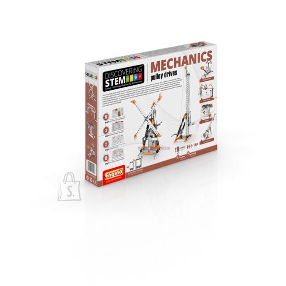 Engino konstruktor Discovering Stem Mehaanika: Kraanad